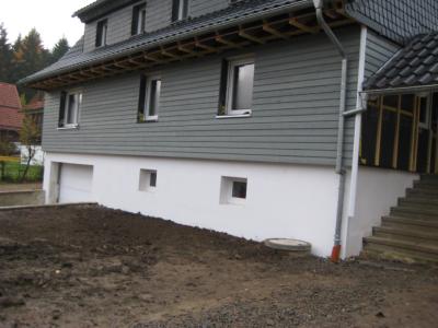 Holzfassade Cape Cod grau | hoffmann-brl.de